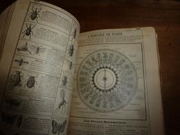 1905 L'HORLOGE DE FLORE ; Etc ---->édition Originale De Luxe ALMANACH HACHETTE - Vieux Papiers