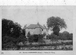 ENVIRONS D'AUBUSSON CHATEAU DE L'ETANG - Other Municipalities