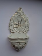 Réf: 100-13-8.            Bénitier    ( Porcelaine ) - Religión & Esoterismo
