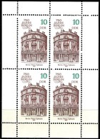 A03-01-3) DDR - Mi 3075 Klb - ** Postfrisch - 4x 10Pf    750 Jahre Berlin II - [6] République Démocratique
