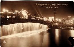 75 Paris Exposition Des Arts Décoratifs 1925 Vue De Nuit - Mostre