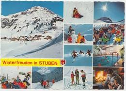 Winterfreuden In STUBEN, Austria, Used Postcard [21925] - Stuben