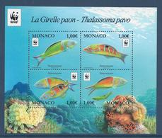 Monaco - YT N° 3056 à 3059 - Neuf Sans Charnière - 2016 - WWF - Monaco