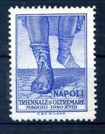 ERINNOFILIA / Triennale D'oltremare Napoli 1940 - Erinnofilia