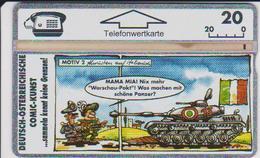 AUSTRIA - P095 - Abrüsten Italien - Tank - Military - Comic - 800ex. - Austria