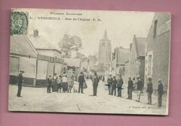 CPA-  Vendhuile - Rue De L'église  - Picardie Illustrée - Sonstige Gemeinden