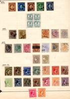1873-99   Espagne Alphonse XII, Couronne Royale, Alphonse XIII, Entre 140 Et 211 Oblit, Cote 161 € - Oblitérés