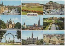 Austria, WIEN, Vienna, Multi View, Used Postcard [21927] - Other