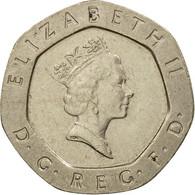 Monnaie, Grande-Bretagne, Elizabeth II, 20 Pence, 1991, TTB, Copper-nickel - 1971-… : Monnaies Décimales