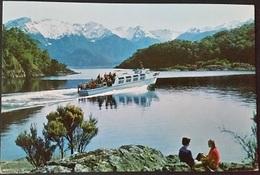 Ak Neuseeland - Lake Manapouri - Neuseeland