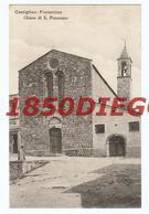 CASTIGLION FIORENTINO - CHIESA S. FRANCESCO F/PICCOLO VIAGGIATA ANIMATA - Arezzo