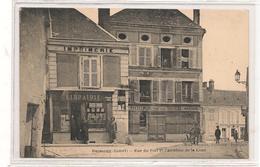 Puiseaux -  Rue Du Fort Et Carrefour De La Lune - CPA° - Puiseaux