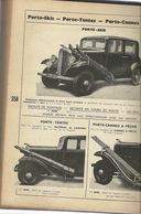 Catalogue Pièces Détachées Automobile Voiture Des Années 1935  816 Pages Voir Description - Books, Magazines, Comics