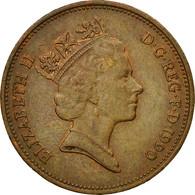 Monnaie, Grande-Bretagne, Elizabeth II, 2 Pence, 1990, TB+, Bronze, KM:936 - 1971-… : Monnaies Décimales