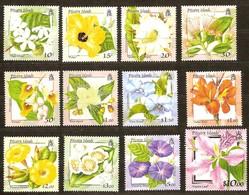 Pitcairn Islands 2000 Yvertn° 526-537 *** MNH Cote 48 Euro Flore Bloemen Flowers - Pitcairn