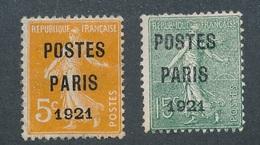 CF-162: FRANCE: Lot Avec Préo Obl N°27-28 - 1893-1947