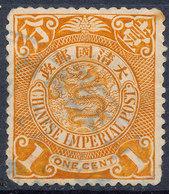 Stamp China Coil Dragon 1898-1900 1c Used #c28 - China