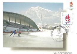 1992 Jeux Olympiques D'Albertville: Anneau De Vitesse ;patinage:13 Fév.5000m - Invierno 1992: Albertville