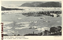 4 CPA : GROENLAND GLACIER FJORD D'UMANAQ VAISSEAU VAÏGAT OSTGRONLAND ANGMAGSSALIK GREENLAND VOILIER POLAIRE - Groenland