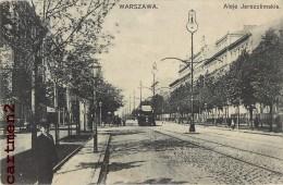 WARSZAWA VARSOVIE POLOGNE POLAND TRAMWAY - Polonia