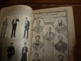 1910 Comment La Barbe Et Les Cheveux Changent L'homme;etc---> ALMANACH HACHETTE  (Petite Encyclopédie Populaire) - Encyclopédies