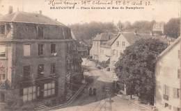 BEAUCOURT - Place Centrale Et Rue De Dampierre - Beaucourt