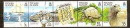 Pitcairn Islands 2000 Yvertn° 522-525 *** MNH Cote 14 Euro Faune Tortues Oiseaux - Pitcairn