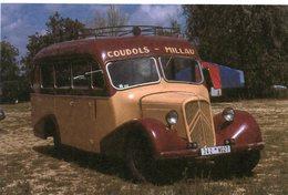 Ancien Autobus De Marque Citroen - Coudols-Millau   -  15x10 PHOTO - Bus & Autocars