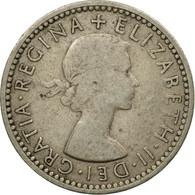 Monnaie, Grande-Bretagne, Elizabeth II, 6 Pence, 1954, TB+, Copper-nickel - 1902-1971 : Monnaies Post-Victoriennes