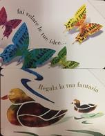 Paco \ PF 1457 1458 \ Coppia Stencil Farfalle Papere \ Nuove - Italië