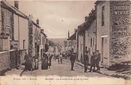 MAISSE - La Grande Rue, Prise Du Haut - France