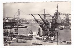 44 Nantes N°42 L'Acitivité Du Port En 1959 Pont Transbordeur Bateaux Cargo Wagons Couverts Grue Juva 4 - Nantes