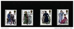 GREAT BRITAIN - 1975  JANE AUSTEN  SET  MINT NH - 1952-.... (Elisabetta II)