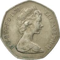 Monnaie, Grande-Bretagne, Elizabeth II, 50 New Pence, 1978, TB+, Copper-nickel - 1971-… : Monnaies Décimales