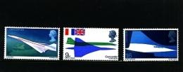 GREAT BRITAIN - 1969  CONCORDE  SET  MINT NH - 1952-.... (Elisabetta II)