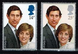 GB 19819, Michel# 884, 885 ** Hochzeit Von Prinz Charles Und Lady Diana - Ongebruikt