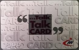 Prepaidcard Hongkong -  Talk Card - 100 Units - Hong Kong