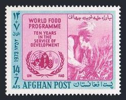 Afghanistan B 91, Hinged, $1.40. Michel 1136. FAO. World Food Program, 10th Ann. - Afghanistan