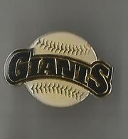 Pin's San Francisco Giants - Baseball