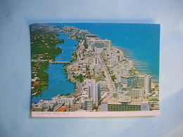 MIAMI BEACH   -  Aérial View  -  Vue Aérienne  -   Floride  -  Etats Unis - Miami Beach