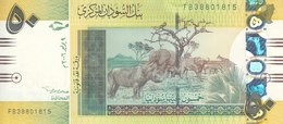 SUDAN 50 POUNDS 2006 P-69 LIGHT YELLOW COLOR PREFIX ( FB ) UNC */* - Soudan