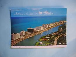 MIAMI BEACH   -  Hotels Along The Ocean  -   Floride  -  Etats Unis - Miami Beach