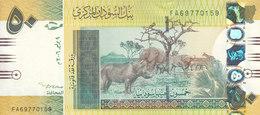 SUDAN 50 POUNDS 2006 P-69 DARCK YELLOW COLOR PREFIX ( FA ) UNC */* - Sudan
