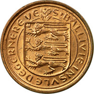 Monnaie, Guernsey, Elizabeth II, 1/2 New Penny, 1971, Heaton, TB+, Bronze, KM:20 - Guernesey
