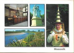 8Aa-991: MAASEIK Oudste Privé-apotheek Van België- Standbeeld Jan En Hubert Van Eyck, Knapkoeker, Maasa - Maaseik