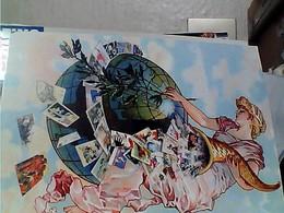 INVITATION CARTEXPO 55 MAISON MUTUALITE 2010 GLOBE CORNE D ABONDANCE ILLUSTRATA DEBUT XX EME  N2010 GV3814 - Borse E Saloni Del Collezionismo