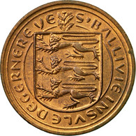 Monnaie, Guernsey, Elizabeth II, New Penny, 1971, TTB, Bronze, KM:21 - 1971-… : Monnaies Décimales