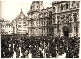 75 PARIS  Photo (17.5 X 12.5 Cm) William Sharp, Ambassadeur Des USA En France à L'Hôtel De Ville En 1914 - Célébrités