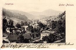 UNTER -POLAUN/DOLNI POLUBNY, Isergebirge, Liberecky Kraj, 24.6.1900,  Verlag Rössler, Gablonz A.N. - Tschechische Republik