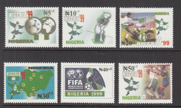 1999 Nigeria Super Eagles Youth Champions Complete Set Of 6  MNH  TRY AND FIND IT!! - Nigeria (1961-...)